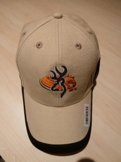 CASQUETTE BROWNING OFFICIAL SHOOTING TEAM