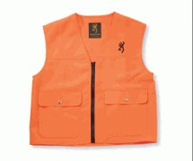GILET BROWNING ORANGE FLUO