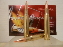 BOITE DE 20 CARTOUCHES HORNADY SUPERFORMANCE SST CALIBRE 30-06 Spring