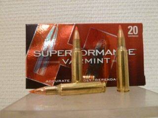 BOITE DE 20 CARTOUCHES HORNADY SUPERFORMANCE VARMINT CALIBRE 222R