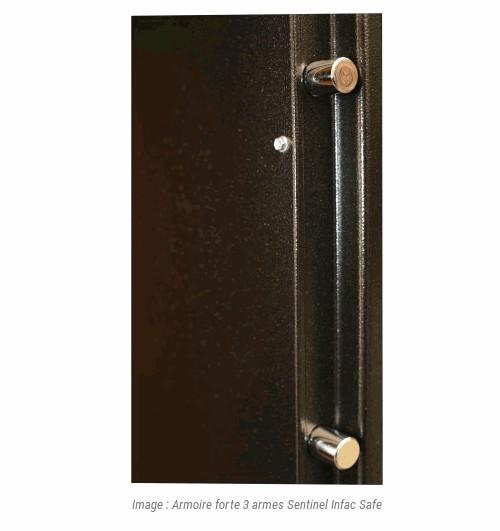 armoire forte 3 armes sentinel infac safe accessoires de. Black Bedroom Furniture Sets. Home Design Ideas