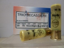 CARTOUCHE JOCKER TRIO BECASSIERE CALIBRE 20
