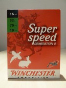 CARTOUCHE WINCHESTER SUPER SPEED CALIBRE 16