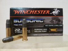 WINCHESTER SUBSONIC 42 MAX 22LR